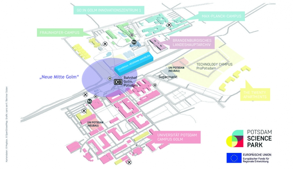 SPACE OF OPPORTUNITIES IN POTSDAM-GOLM
